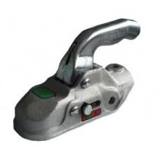 Сцепная головка для прицепа с тормозом наката