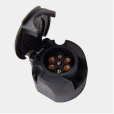 7-ми контактная розетка фаркопа, код товара: TBS-0003