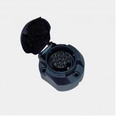 13-ти контактная розетка фаркопа, код товара: TBS-13