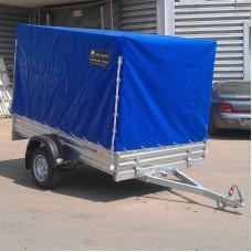 Тент с каркасом к прицепу МЗСА 817702 синий