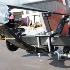 Подвеска для бортового прицепа МЗСА